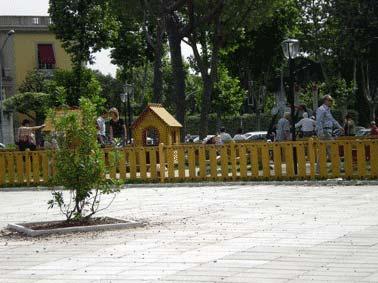 Lavori in corso per nuovi spazi urbani a Monteverde Nuovo