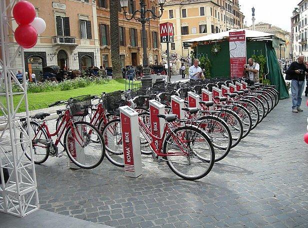 Il progetto Bike Sharing sbarca a Roma
