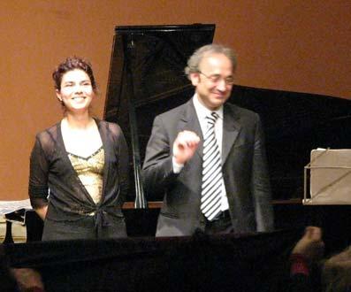 Michele Marasco e Sara Matteo in concerto all'Accademia di Ungheria