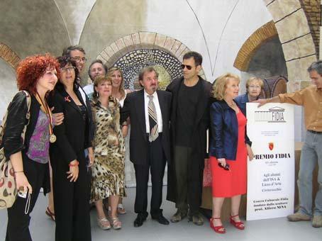 Assegnato il XV Premio Fidia 2008