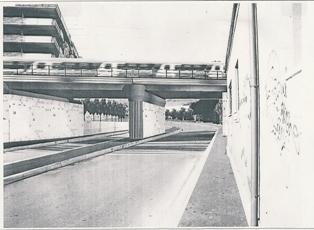Nuovo ponte in via Portuense