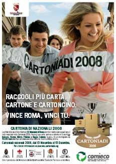 Cartoniadi 2008, una sfida di carta