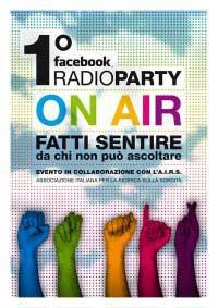 Sarà a Roma il 1° Facebook Radio Party
