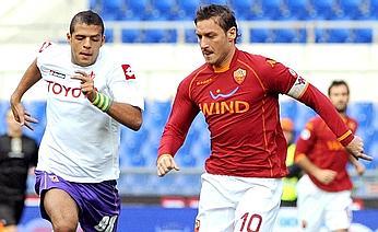 Spettacolo Roma, Totti stende la Fiorentina all'Olimpico