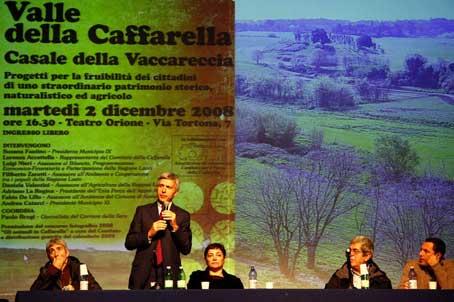 Progetti di riqualificazione agricola nella Valle della Caffarella