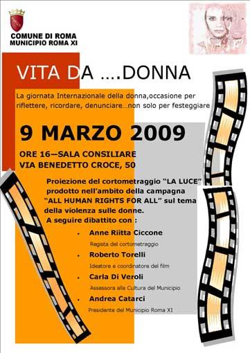 Giornata internazionale dei diritti delle donne 2009