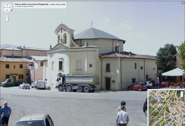 Le foto dei paesi prima del terremoto su Google Street view