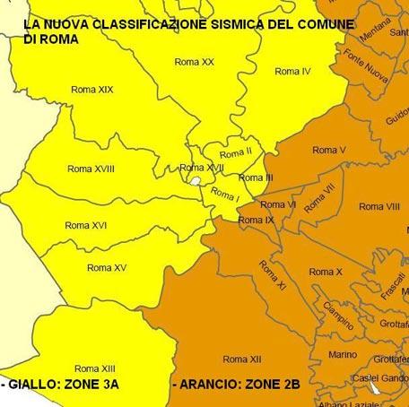 L'Enea rivede la mappa sismica della Regione Lazio
