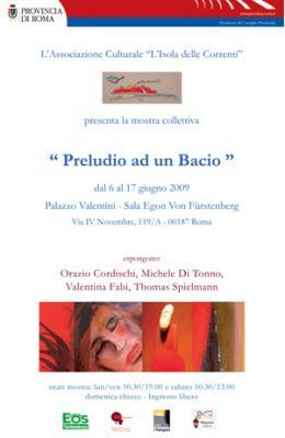 A palazzo Valentini la mostra 'Preludio ad un bacio'