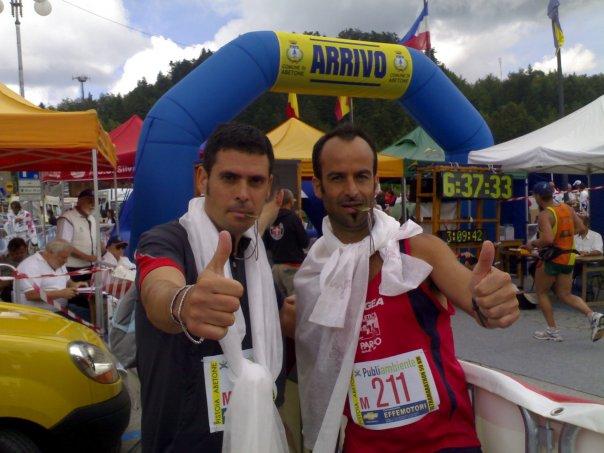 Atletica del Parco: tre arrivati su tre alla corsa Pistoia-Abetone