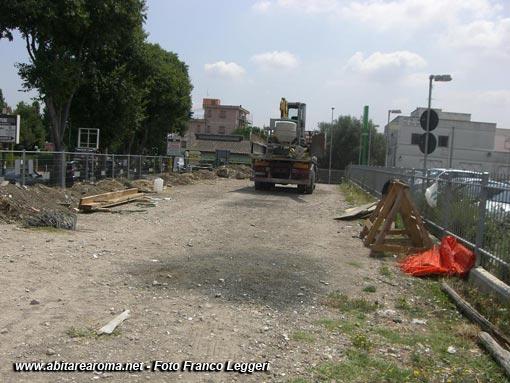 Massimina: in costruzione un parcheggio e potenziamento rete elettrica