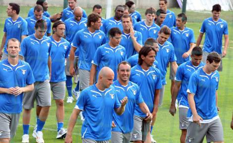 La Lazio ha ripreso il lavoro