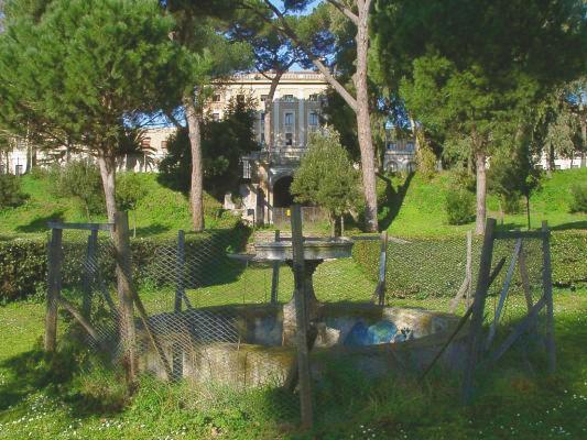 Rapina a Villa Carpegna