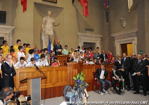 Il grande giorno di Totti in Campidoglio