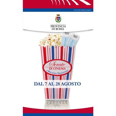 Serate di cinema a Palazzo Valentini