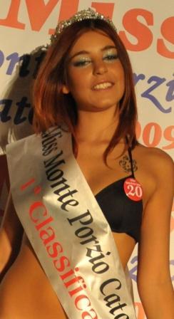 Alice Bruno è Miss Monteporzio Catone 2009
