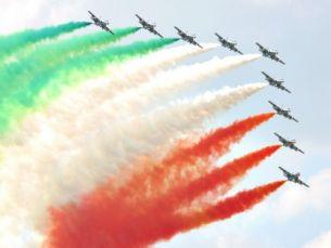 L'Italia in lutto