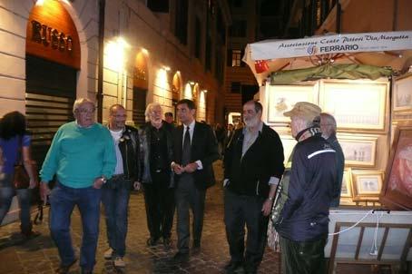 3000 opere a impreziosire i vicoli di via Margutta