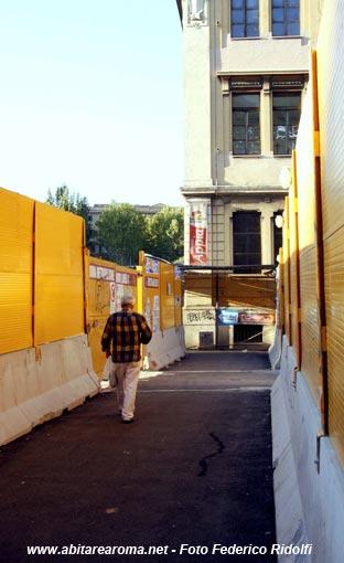 Chiusa la Biblioteca Appia, causa lavori per la metro C