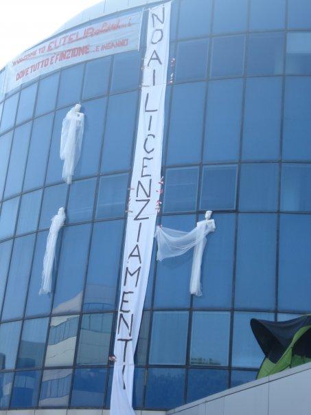 Blitz di 'finti poliziotti' presso la sede di Eutelia
