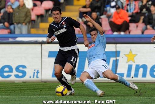 La Lazio strappa un pari a Napoli