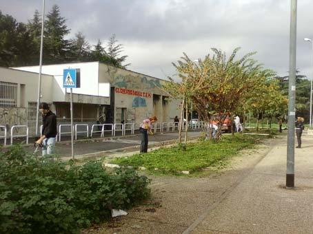 Guerrilla Gardening a Tor Bella Monaca