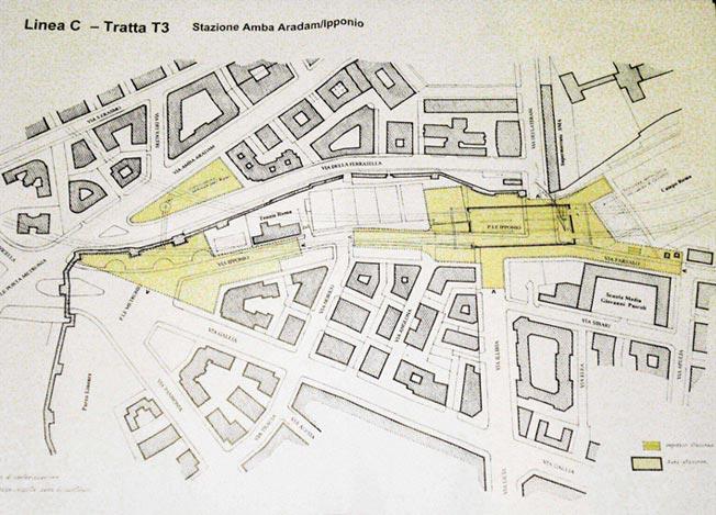 Appio Metronio, nuovo cantiere della metro C
