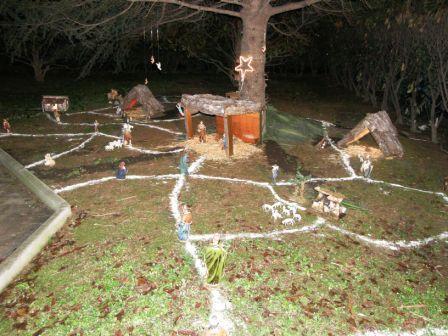Boom dei presepi fai da te nel quartiere di Villa De Sanctis