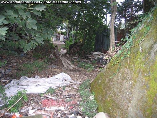 II Municipio, abbandonata l'area di via Foce Dell'Aniene