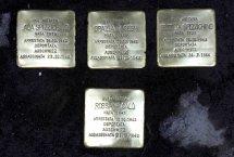 Le pietre d'inciampo a perenne memoria dei deportati