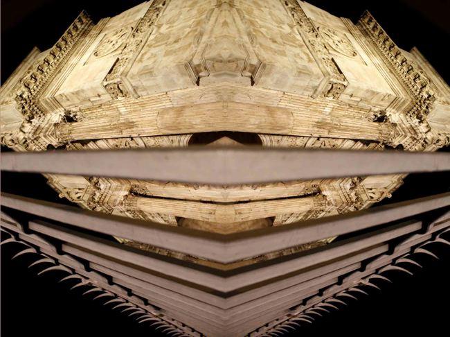 La maschera di Costantino anno 315 d.C.