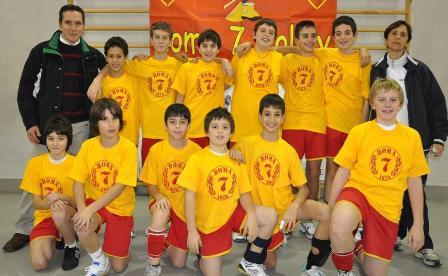Grande giornata di sport per gli atleti e le atlete della Roma 7 Volley