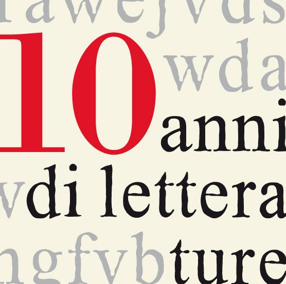 Al via la decima edizione del Festival delle Letterature