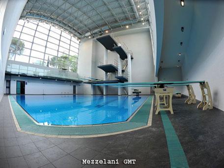 Inaugurata la nuova casa dei tuffi al centro sportivo giulio onesti - Piscina olimpiadi ...
