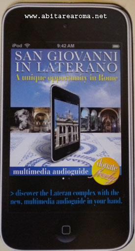 La basilica di San Giovanni in Laterano si visita con l'iPod