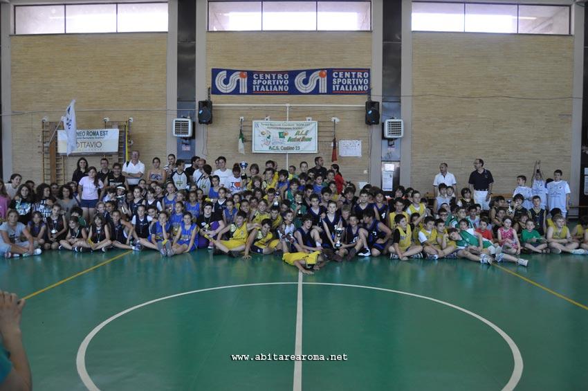 IX edizione Torneo nazionale Minibasket Roma Est