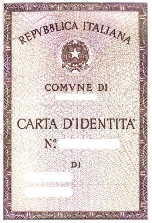 Carta d'identità già a 3 anni di età