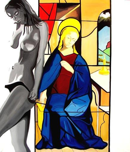 Sacro e profano, mostra di Mauro Bellucci