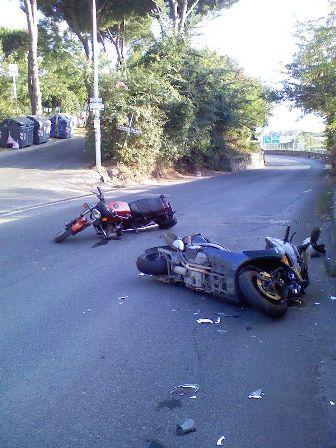Un altro incidente su via di Brava