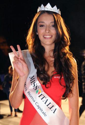 Ilaria Rocchetti è miss Roma Capitale