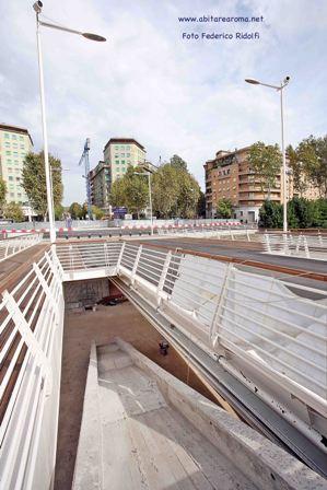 Ponte della Musica, il cantiere infinito
