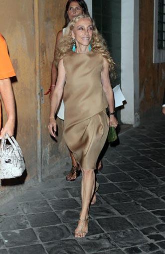 La Vogue fashion night out a Roma