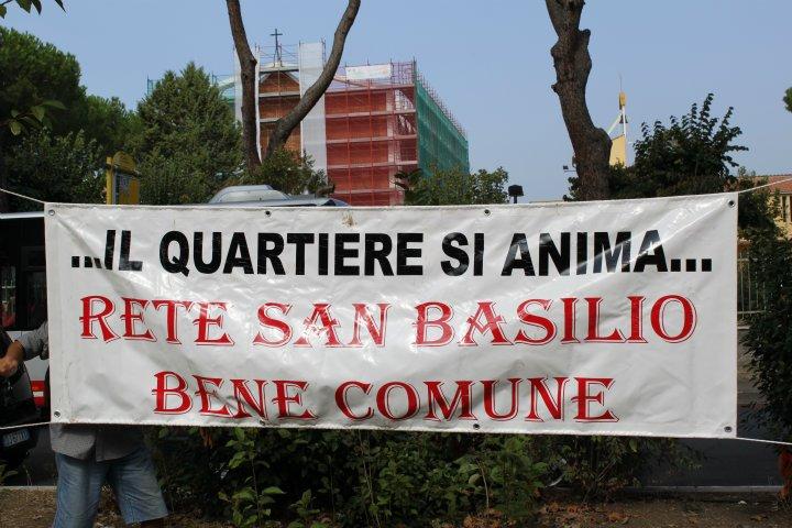 Manifestazione a San Basilio per commemorare Ennio Lupperini