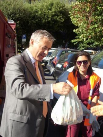 Al via la raccolta degli scarti alimentari nel XVII Municipio