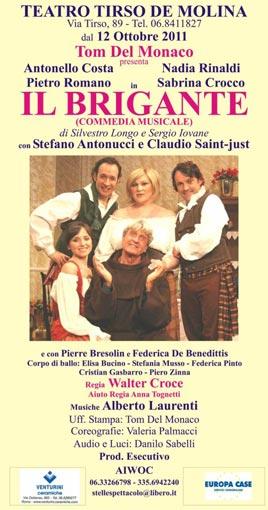 Antonello Costa, Pietro Romano, Nadia Rinaldi e Sabrina Crocco al Teatro Tirso de Molina