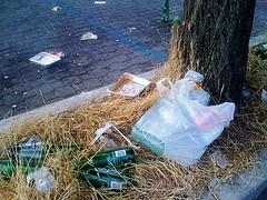 Movimento Cittadino Flaminio, Sit-in Piazza Mancini il 28 ottobre 2011