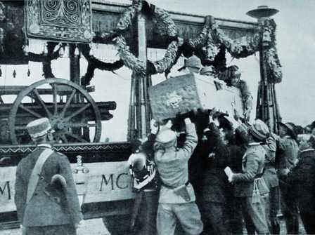 'Il Viaggio dell'Eroe' celebra il 90° anniversario del Milite Ignoto