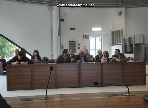 La prima seduta del consiglio del VII municipio nella nuova sede