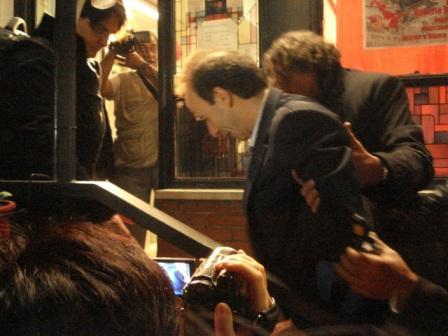 Roberto Benigni alla Mostra su Enrico Berlinguer