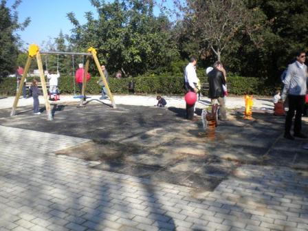 XII Municipio, inaugurato il 12 novembre il parco giochi di via Borghi